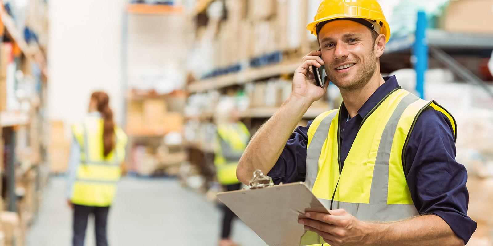 jobposting warehouse worker male